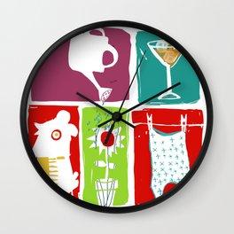 Summer & you & me... Wall Clock