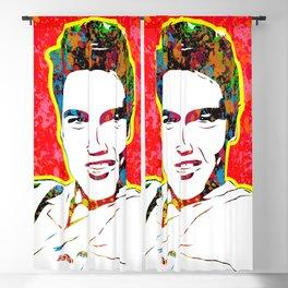 Elvis | Splatter Series | Presley | Pop Art Blackout Curtain