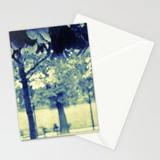 Blue Trees Stationery Cards