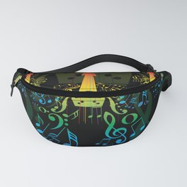 Creative violin Fanny Pack
