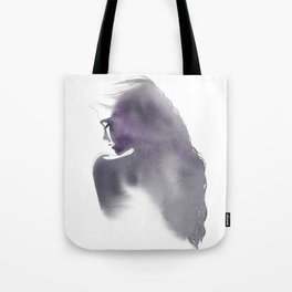 Dusk, Fashion Illustration in Watercolor Tote Bag