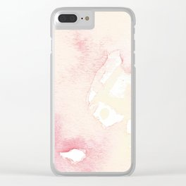 Cluttered Clarity Clear iPhone Case