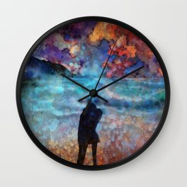 Summer Love Wall Clock