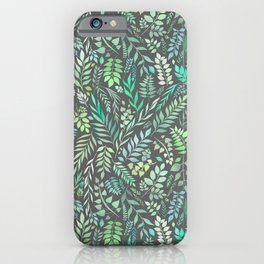 Eucalyptus (Essential Oil Collection) iPhone Case