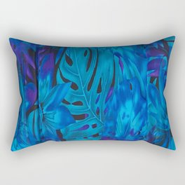 Tropical Blues V ... By LadyShalene Rectangular Pillow