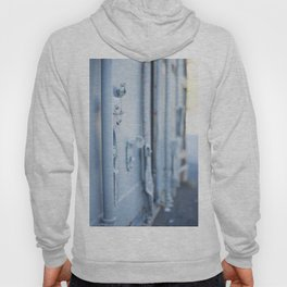 Industrial Blue Door Hoody
