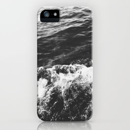 Making Waves B&W iPhone Case