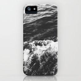 Making Waves B&W iPhone Case