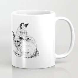 Foxes napping Coffee Mug