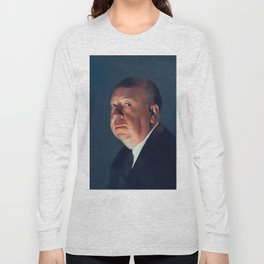 Alfred Hitchcock, Hollywood Legend Long Sleeve T-shirt