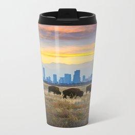 City Buffalo Metal Travel Mug