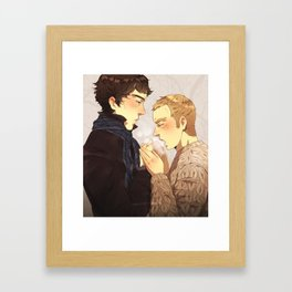 Warm up, Holmes Framed Art Print