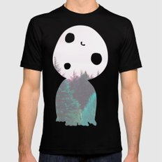 Dreamland Kodama MEDIUM Black Mens Fitted Tee