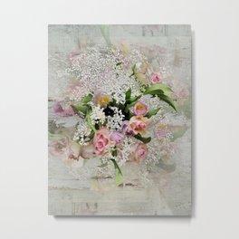 Happy Flower Explosion Metal Print