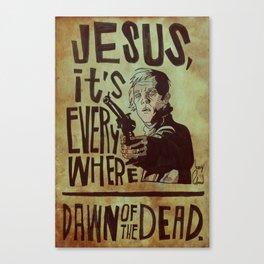 Dawn Of The Dead Canvas Print