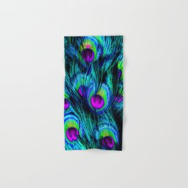 Peacock or Flower 1 Hand & Bath Towel