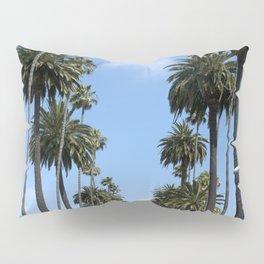 Tall California Palm Trees Photograph Pillow Sham