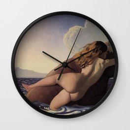Felix Vallotton - The Rape of Europa Wall Clock