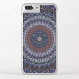 Recreational Maylanta Mandala 93 Clear iPhone Case