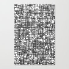 Crosshatch Canvas Print