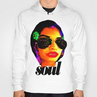 soul Hoodies featuring Soul by Lord Rocco