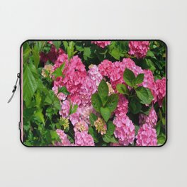 Pink Hydrangeas Laptop Sleeve