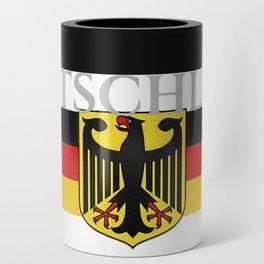 Deutschland ...German Flag and Eagle Can Cooler