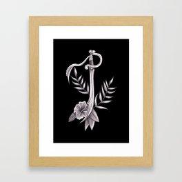 Sword in the Tropics Framed Art Print