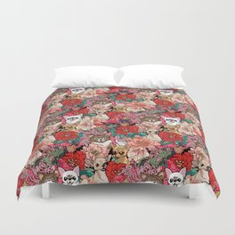Because Chihuahua Duvet Cover