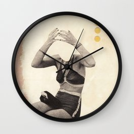 Losing my Head Wall Clock