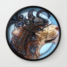 Cata Hari Wall Clock