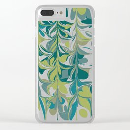 Jungle Reflections Clear iPhone Case