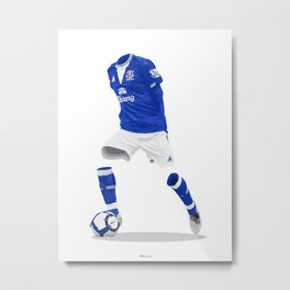 Everton 2009/10  Metal Print