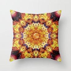 Solar Power Throw Pillow