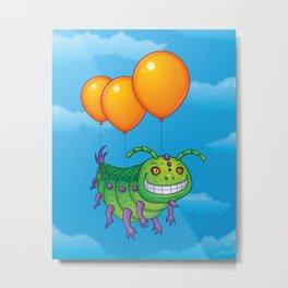 Impatient Caterpillar Metal Print
