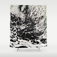 ghost Shower Curtains featuring Ghost by blair__berger