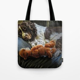 Flame and Her Friend Tote Bag
