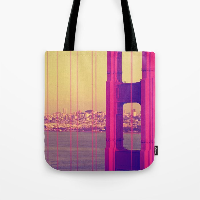 Golden Gate Into San Francisco Tote Bag