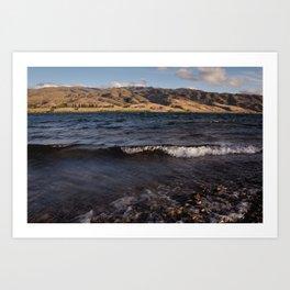Lake Dunstan Art Print