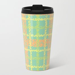 8 Bit plaid |Springtime Travel Mug
