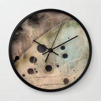 camus Wall Clocks featuring Sisyphus by jbjart
