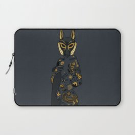 Late Night Egyptian Tales Ep. 1: Anubis Laptop Sleeve