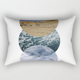 just go places Rectangular Pillow