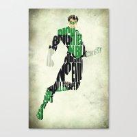 green lantern Canvas Prints featuring Green Lantern by A Deniz Akerman