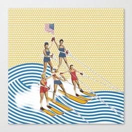 Patriotic Pyramid Canvas Print