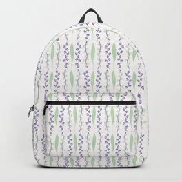 Leaf Blossom Pattern Backpack