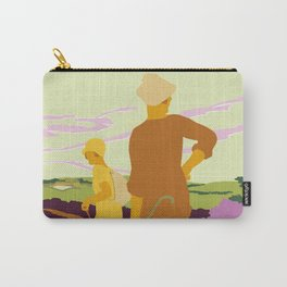 Yorkshire Moors hiking Carry-All Pouch