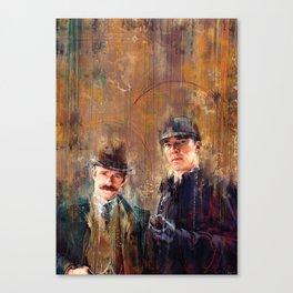 Sherlock Special Canvas Print