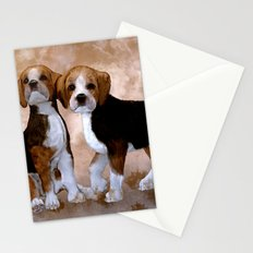 Young Beagle Stationery Cards