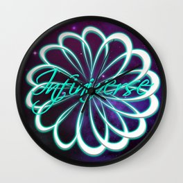 Kristy Nicolle Fantasy Infiniverse Logo Wall Clock